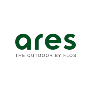 ares the outdoor by flos logo